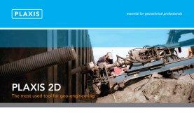 phần mềm phân tích địa kỹ thuật, thiết kế địa công trình plaxis 2D