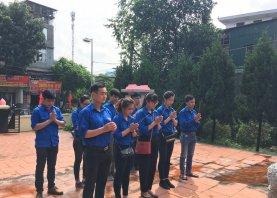 Đoàn thanh niên tổ chức hoạt động ngày thương binh liệt sỹ